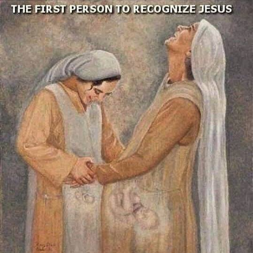 The First Person to Recognize Jesus…